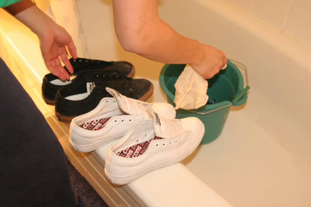 Дезинфекция обуви при грибке на ногах