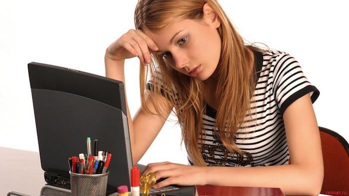 переутомление за компьютером