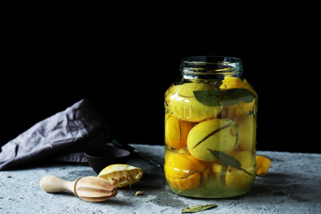 Маринованные лимоны