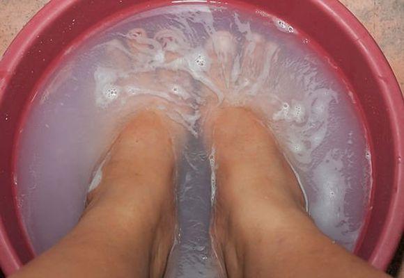 прогревание ног