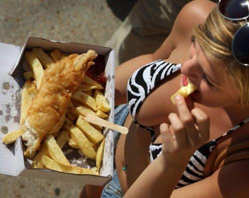 Жирная еда летом опасна для здоровья!