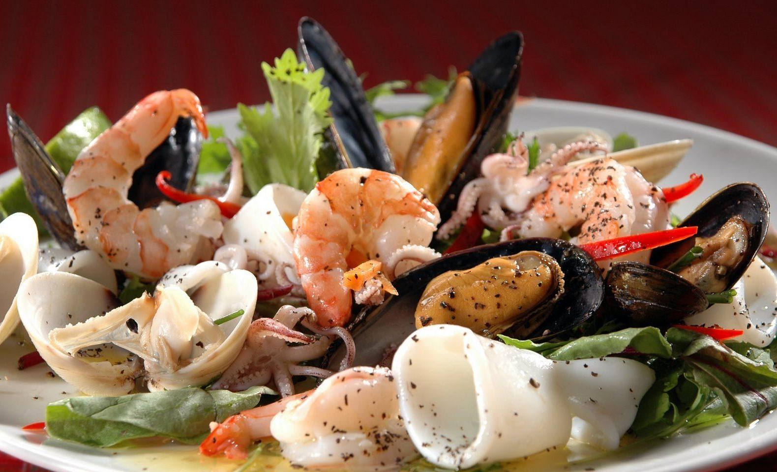 При систематическом потреблении морской пищи усиливается эрекция