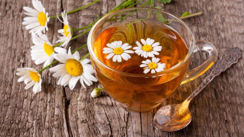 Ромашковый чай ускоряет пищеварение