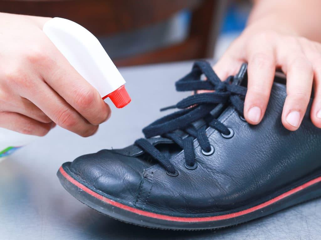 Дезинфекция обуви при грибке