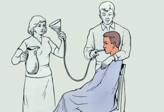 Проведение промывания желудка