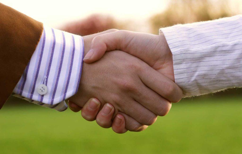 Грибок через рукопожатие