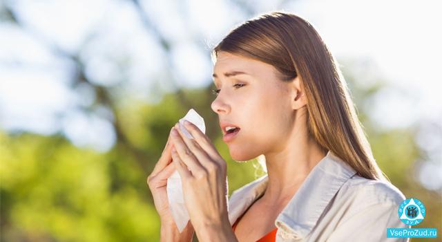 чихание и зуд в носу