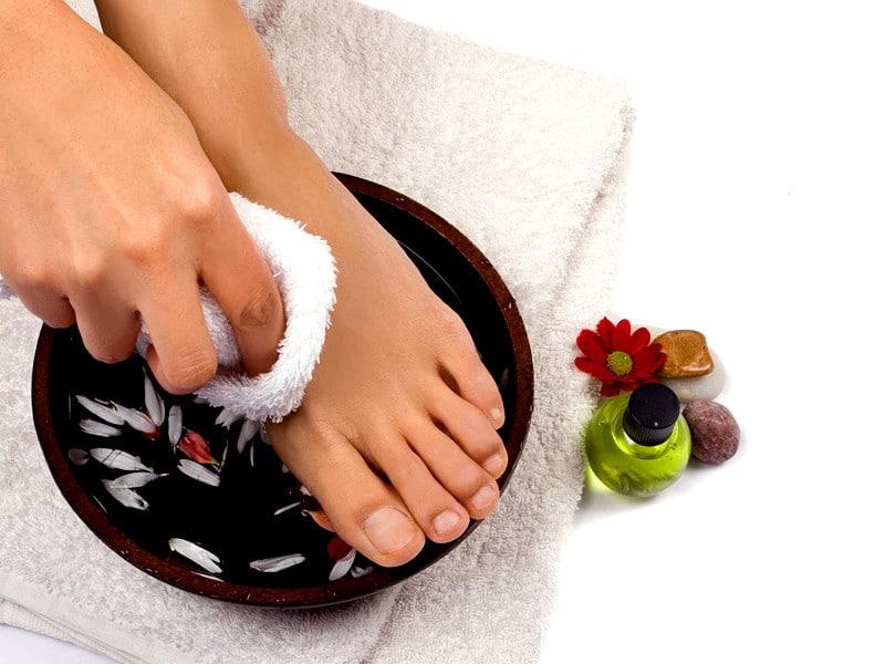 Лечение грибка ног уксусной кислотой