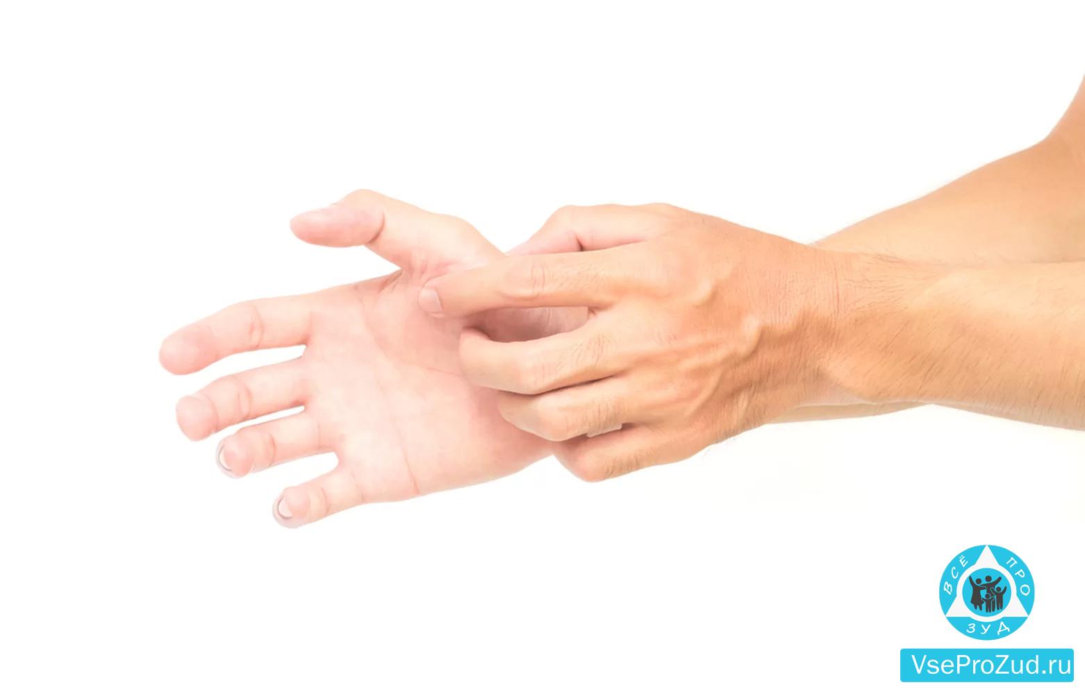 Чешутся ладони рук