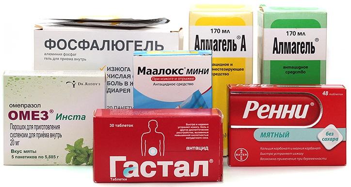 Совместимость Хилак Форте с антацидными медикаментами