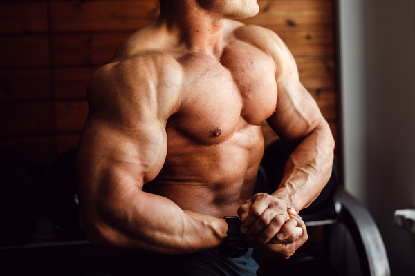 Бодибилдинг, накаченные мышцы