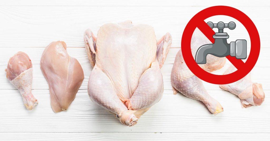 Мыть или не мыть сырую курицу
