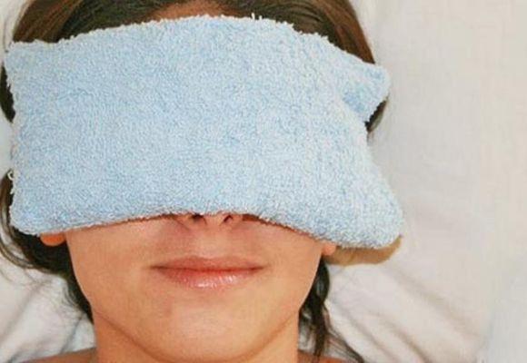 теплый компресс на нос