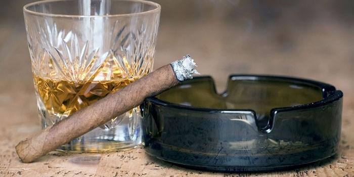 Алкоголь и курение – двойной удар по организму
