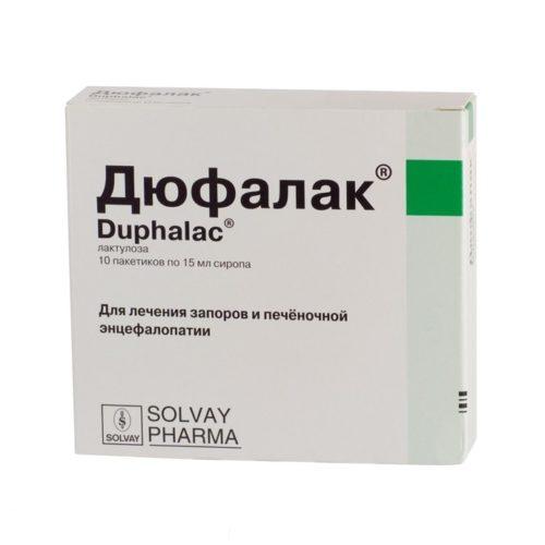 Дюфалак® – лекарственное средство от запоров