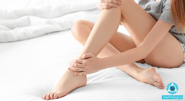 Зуд голеней ног
