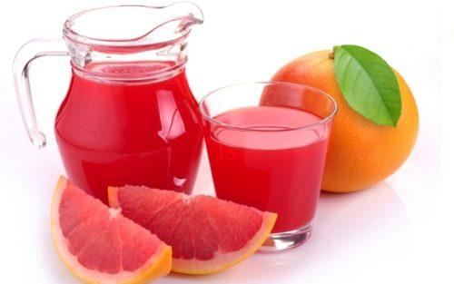 Сок грейпфрута полезен при детоксикации печени