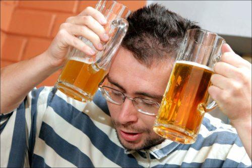 Снятие алкогольной интоксикации пивом