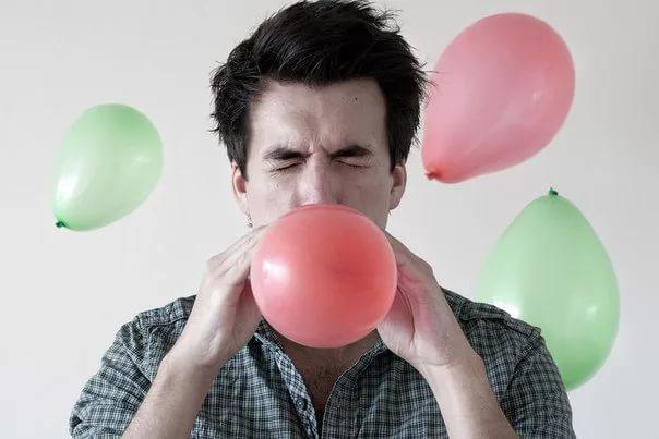 Проверка здоровья воздушным шариком